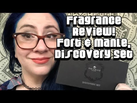 Fragrance Review :: Discovering the Fort & Manle Discovery Set | Niche, Unisex
