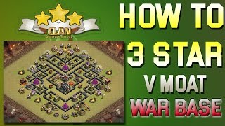 [TH9] Internet Base Beat - V Moat base 3-star strategy