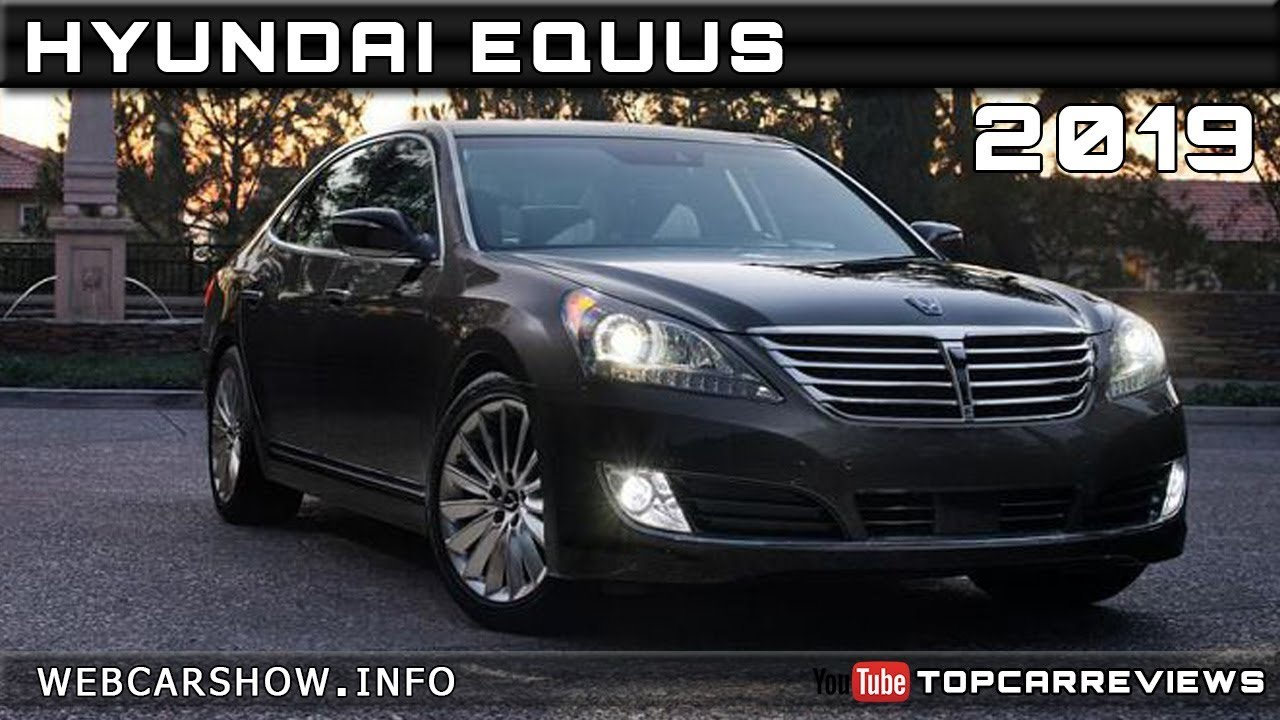 2019 Hyundai Equus Review Rendered Price Specs Release Date Youtube