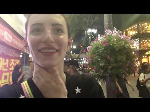 KOREA VLOG #6 | Street Food, Live Performers