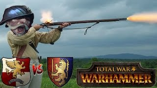 Total War Warhammer Online Battle #222: Bretonnia vs Empire - GUNS, GUNS, GUNS!