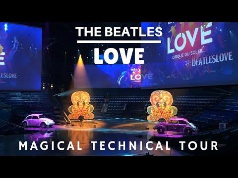 Beatles Love Cirque - Magical Technical Tour