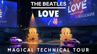 Video Beatles Love Cirque - Magical Technical Tour download MP3, 3GP, MP4, WEBM, AVI, FLV Juli 2018
