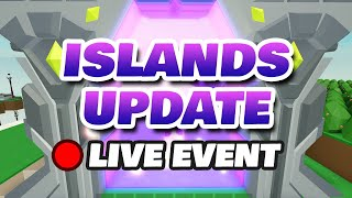 Roblox Islands Live Update Party Event