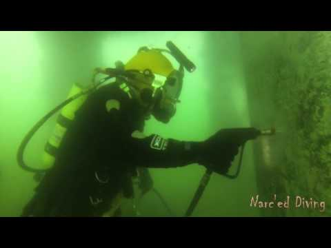 Commercial Diving - Pile Cleaning