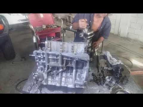 Philippine Garage Toyota FJ Crueser 2009 How To Replace Main Bearing.