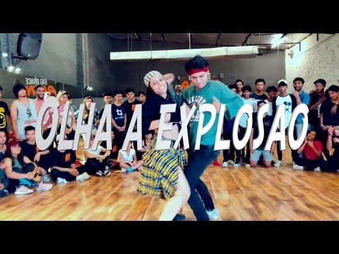 OLHA A EXPLOSAO - MC Kevinho ft. 2 chainz | Ankit Sati Choreography