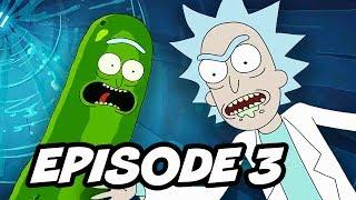 Rick and Morty Season 3 Episode 3 Pickle Rick Promo 2 Breakdown