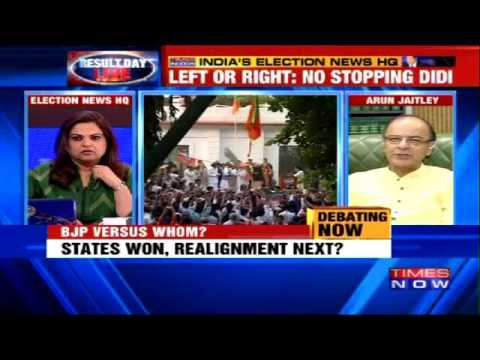 Arun Jaitley Speaks to Arnab Goswami on Congress's Loss in Elections