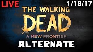 Walking Dead: New Frontier Episode 1 & 2 Alternate Choices Stream