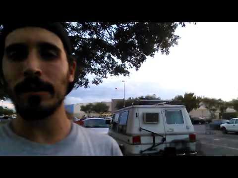 Van Life - Day 1 Florida To California Road Trip In A Camper Van
