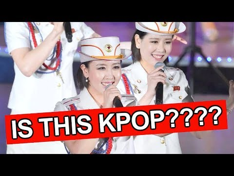 North Korean Kpop Girl Group?