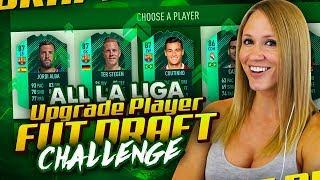 LA LIGA WINTER UPGRADE FUT DRAFT CHALLENGE! FIFA 18