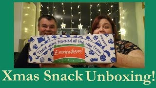 Universal Yums Unboxing - Christmas Snacks!