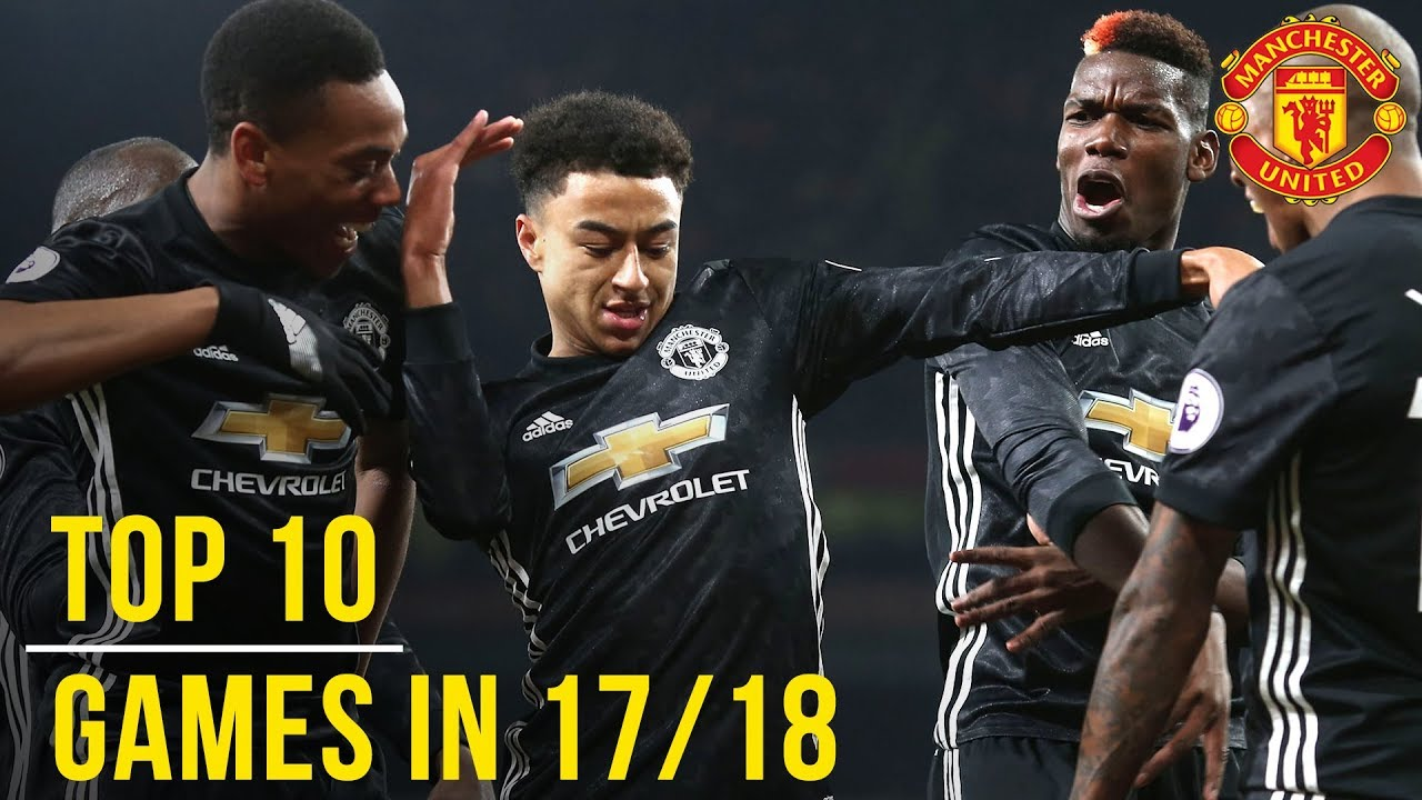 Download Manchester United Season Review: Top 10 Games! | Season 2017/18