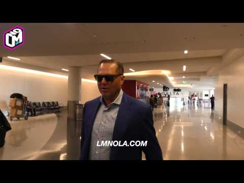 Scott Boras at LAX