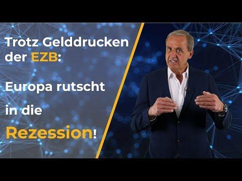Trotz Maßnahmen der EZB: Europa rutscht in die Rezession | Florian Homm