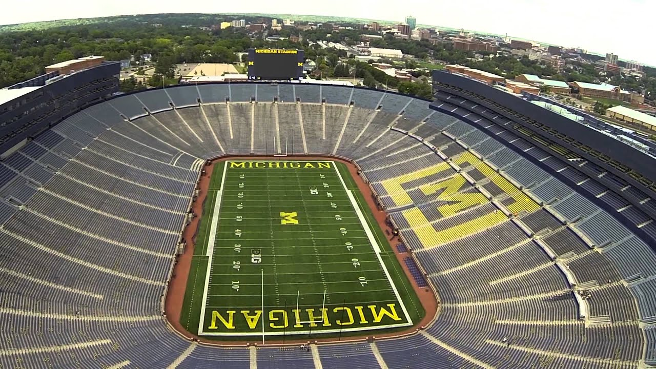 "The University of Michigan's Michigan Stadium ""The Big ..."
