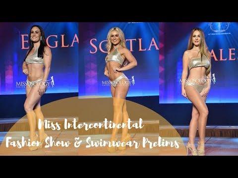 Miss Intercontinental Fashion Show & Swimwear Prelims!