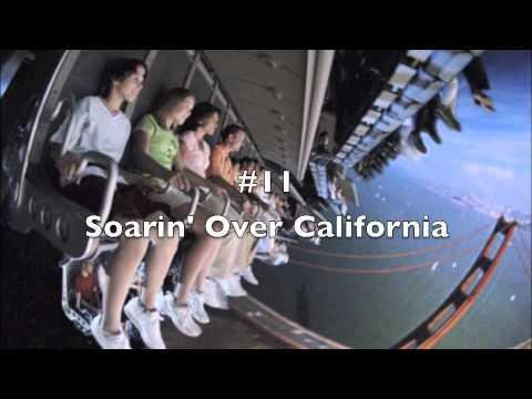 Top 20 Disneyland Rides! (California)