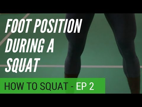 How to squat EP2 - Foot positioning - sinhala