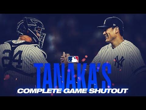 Yankees' Masahiro Tanaka Throws Complete Game Shutout Against Rival Rays