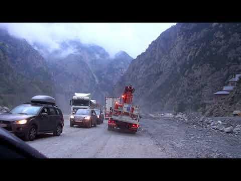 Грузия. Военно грузинская дорога. Верхний Ларс Последний километр в Грузии. Еще раз про страховки