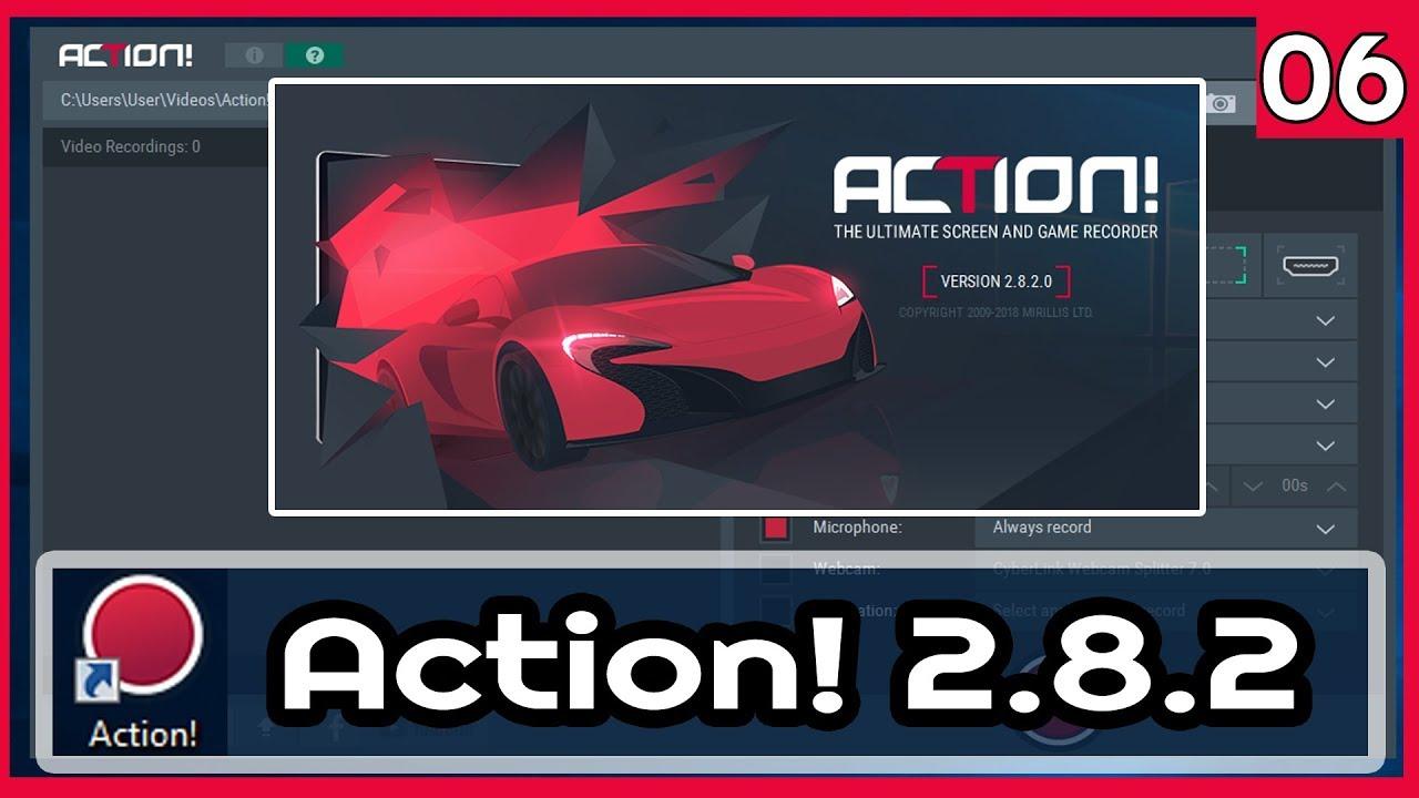 Mirillis Action 2.8.2 |06| Hướng Dẫn Live Stream Game Trên Youtube Với Action!