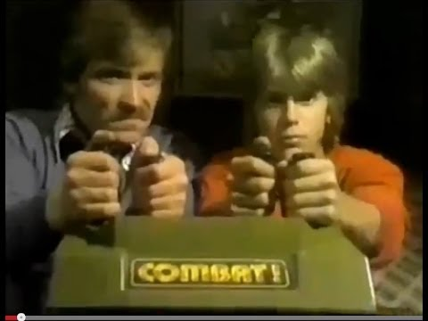 Coleco's Telstar 'Combat!' Video Game Commercial (1977)