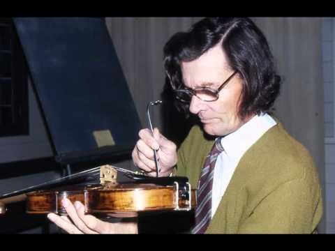 Violinist Heimo Haitto, J.S Bach Partitia in E (Prelude)