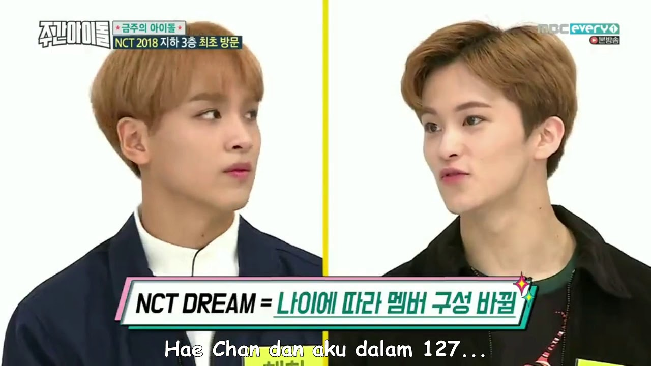 Download [INDO SUB]Weekly Idol Ep 347 - NCT