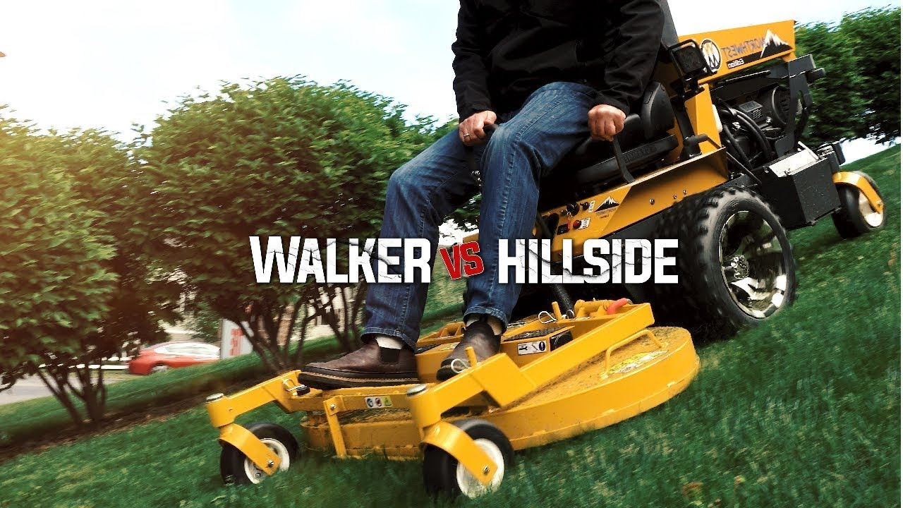 Walker B23i vs  Steep Hillside - Can It Handle It?