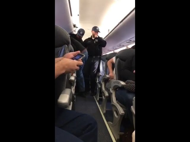United Airlines Passenger Violently Removed From Flight