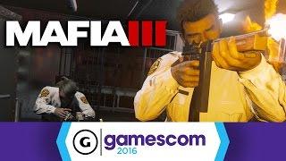 Mafia III - The Heist Gamescom 2016 Trailer