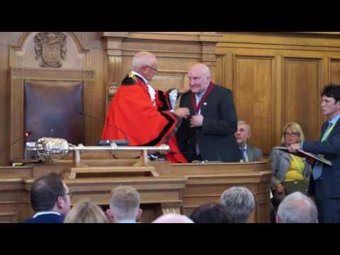 Mayor Making in Nuneaton and Bedworth 17-18