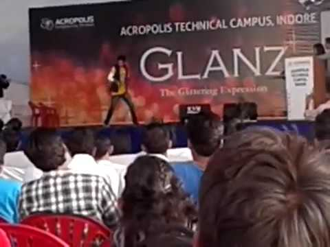 Acropolis Technical campus indore 2012 dance by swapnil shukla