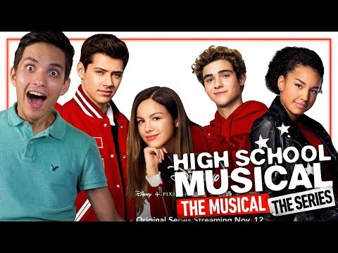 high-school-musical:-the-musical:-the-series---trailer-en-español---reacción-|-peterrdzl