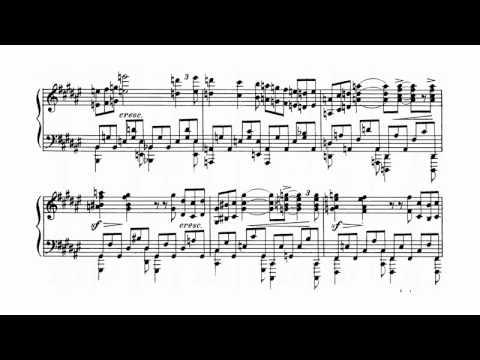Scriabin Etude Op.8 No.12 (Horowitz)