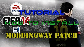 TUTORIAL: HOW TO INSTALL MODDINGWAY PATCH TO FIFA 14 PC with commentary!