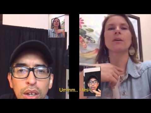 международные знакомства с глухими художниками во франции