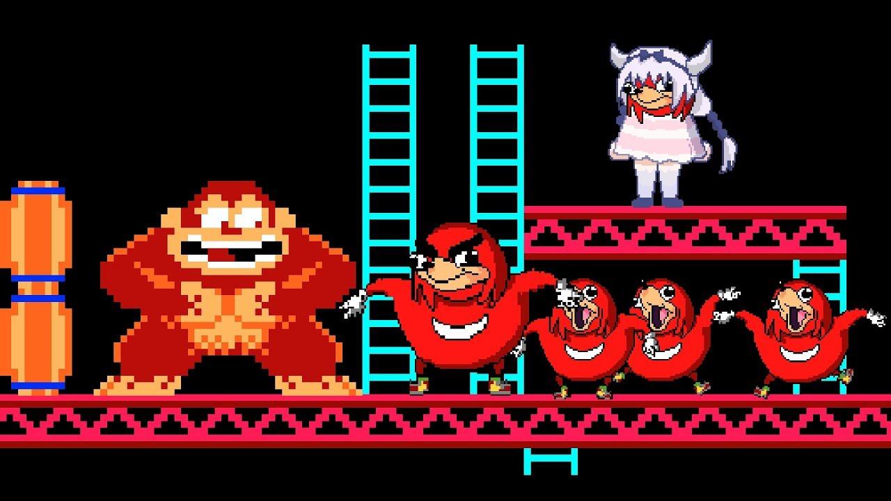 Uganda Knuckles vs Donkey Kong