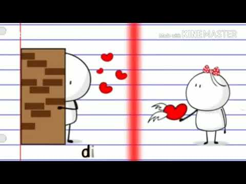 Romantic Whatsapp Status    Ek Mulakat Ho❤    Animated Love Romantic Status    W
