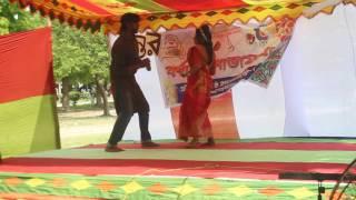 akasete lokkho tara dance performance ; Rajshahi University
