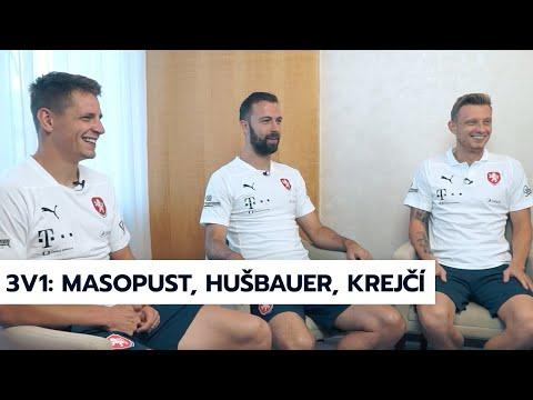 3v1: Masopust, Hušbauer, Krejčí