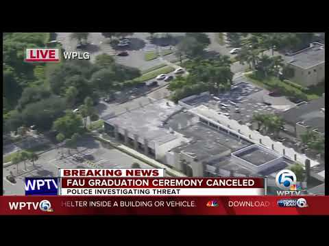 FAU graduation ceremony canceled over credible threat of shooting