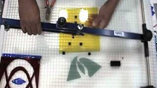 How to Cut Glass Using The Cutter's Mate | Delphi Glass