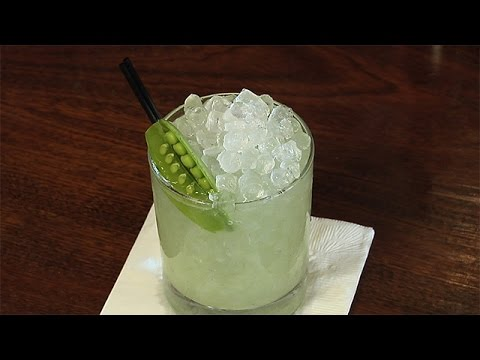 How To Make Clover Club's Green Giant Cocktail