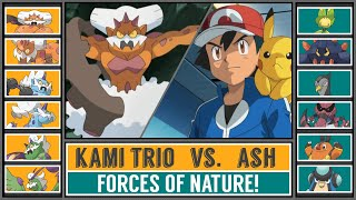 ASH vs. LANDORUS (Pokémon Sun/Moon) - Battle of Legends!