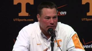 #Vols vs. Bowling Green - Butch Jones Press Conference (9.5.15)