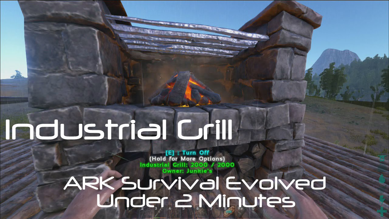 Industrial Grill [ARK Survival Evolved] - YouTube